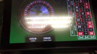 Roulette FOBT, Big Win, maximum bet at William Hill(, 2015-10-13T15:44:05.000Z)