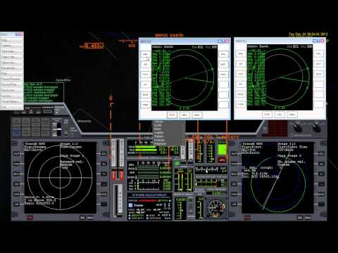 Trip to Mars in Orbiter Space Flight Simulator using TransX