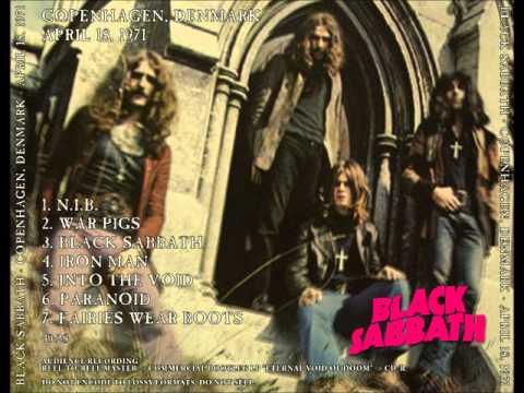 Black Sabbath 1971-04-18 Copenhagen (Master)