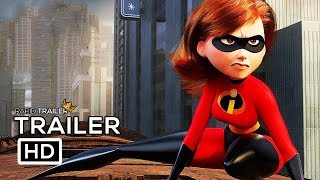 Video INCREDIBLES 2 Official Trailer #2 (2018) Disney Animated Superhero Movie HD download MP3, 3GP, MP4, WEBM, AVI, FLV Juni 2018