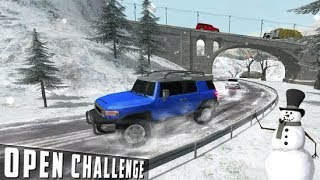 FJ 4x4 Cruiser Snow Driving - Best Android GamePlay FHD 2018