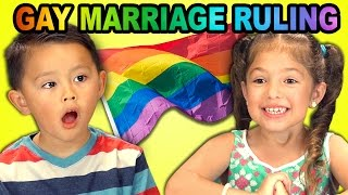 Kids React to Gay Marriage Ruling