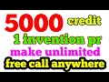 Ahacall unlimited 5000 credit 1 invention pr /Indiakhan7