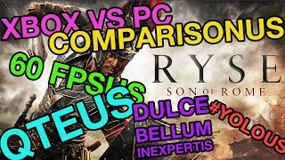Ryse: Son of Rome PC vs Xbox One Comparison Gameplay Cryengine 1080p Direct Feed SEO - VideoGamer