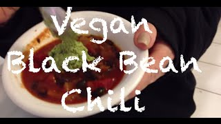 Vegan Black Bean Chili - Cooking With Crueltyfreeqts
