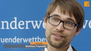 """Interview: Sensape, Hauptpreis """"Gründerwettbewerb - IKT Innovativ"""""""