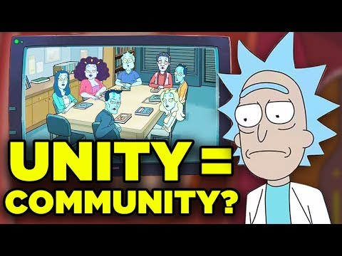Rick And Morty COMMUNITY Easter Egg Hidden Meaning! | Ricksplained