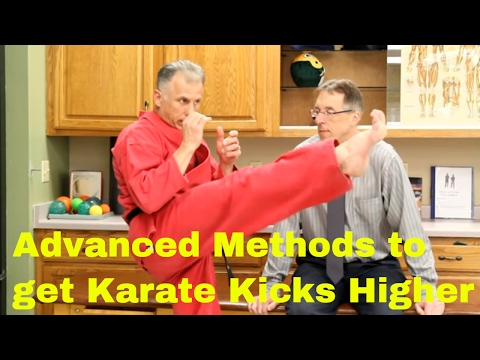Advanced Methods to get Karate Kicks Higher-Great Hamstring Stretches