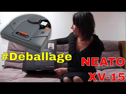 d ballage du robot aspirateur neato xv 15 de neato robotics youtube. Black Bedroom Furniture Sets. Home Design Ideas