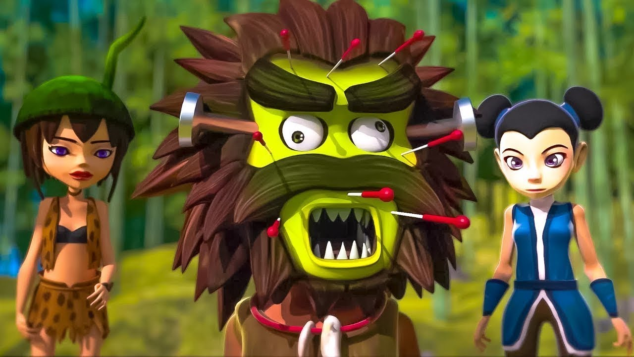 Око Леле - Бамбуковый лес - прикольный мультик - Kedoo Классные Мультфильмы
