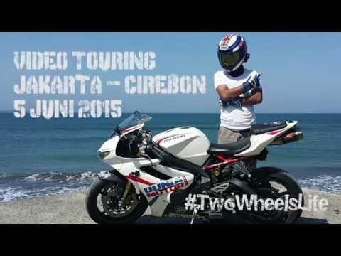 Daytona 675R v ER6n Touring Jakarta Cirebon Video 1