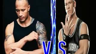 The Rock V.S John Cena Epic Rap Battle Of History
