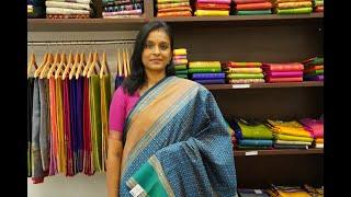Kanchi Silk Cotton Saree | Parijat Collections