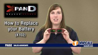 Explained: How to replace batteries in your 3D Glasses by OneCall