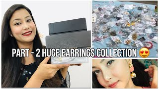 My *HUGE* 🙈 Earrings Collection PART - 2 | Cherry's world |
