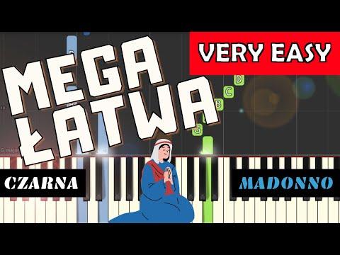 🎹 Czarna Madonno (Jest zakątek na tej ziemi) - Piano Tutorial (MEGA ŁATWA wersja) 🎹
