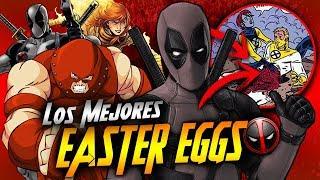 DEADPOOL 2   ¡LOS MEJORES EASTER EGGS!