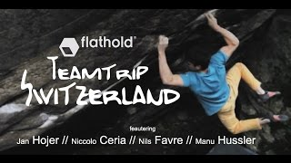 Jan Hojer, Niccolo Ceria, Nils Favre Swiss Granite