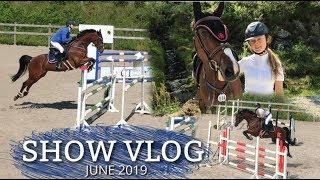 HORSE SHOW VLOG |  High jumps beneath the sun [June'19]