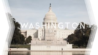 WASHINGTON D.C.  |  Discovering the Capital (4K)