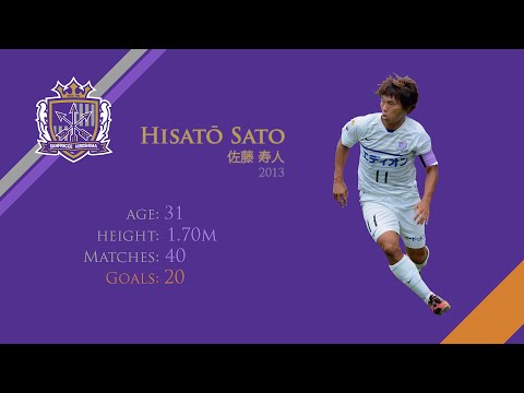 HISATO SATO 佐藤 寿人 | GOALS, ASSISTS | SANFRECCE HIROSHIMA | 2013 (HD)