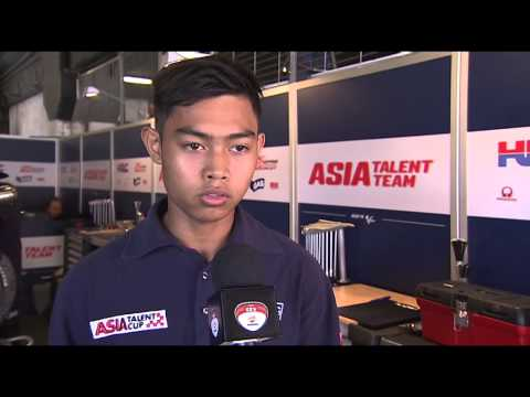Asia Talent Team – Barcelona-Catalunya Race – Adam Norrodin Interview