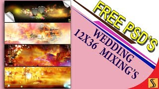 Free Download Wedding 12x36 PSD Templates  Fully Editable For Photoshop[ss free psd]#202