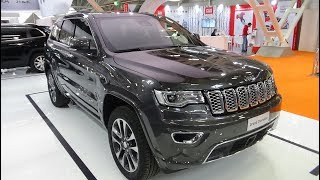 2018 Jeep Grand Cherokee Overland - Exterior and Interior - Bologna Motor Show 2017