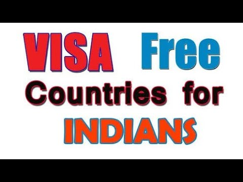 Countries Where indians Don't need visa or they get visa on arrival {2018} thumbnail