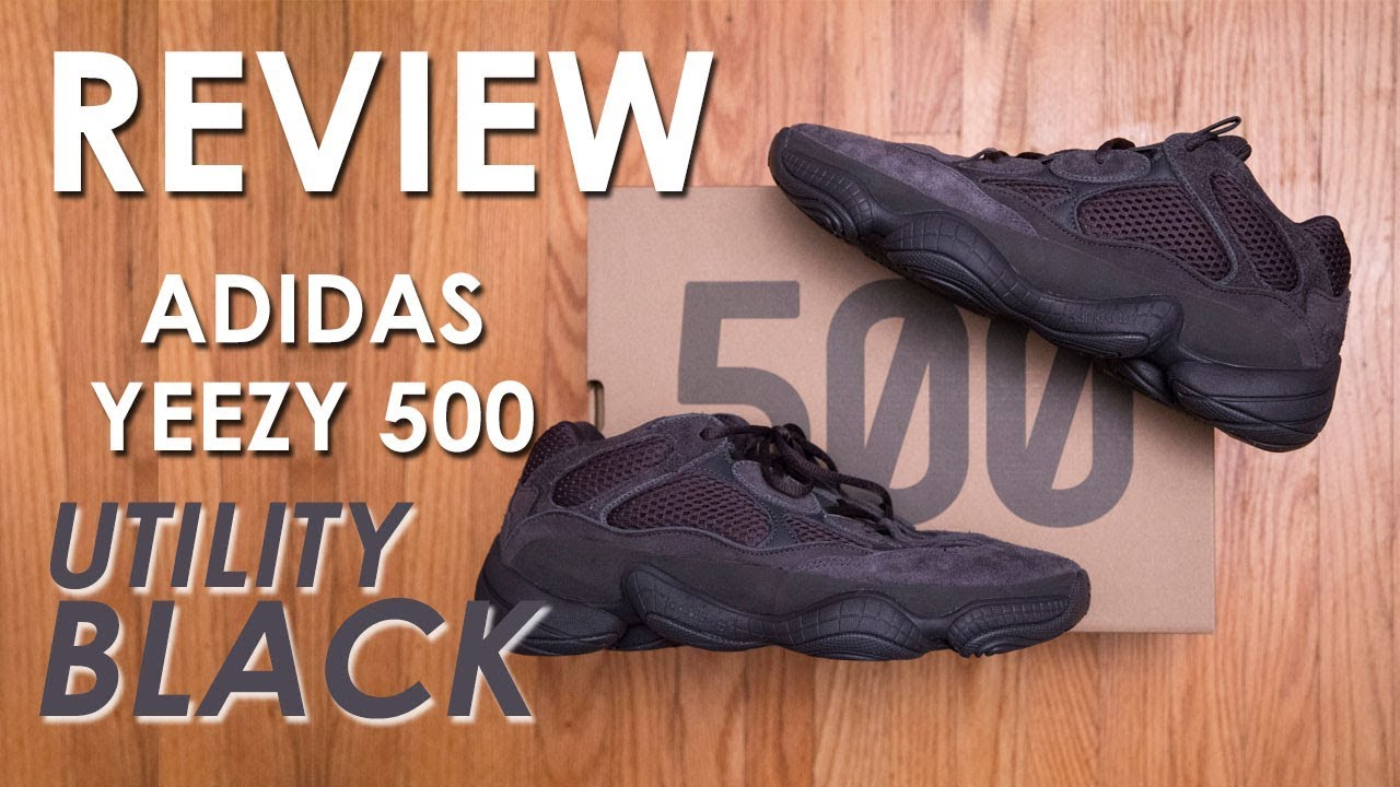 387eb94ec Sold out, Restock, Repeat || adidas Yeezy 500 'Utility Black' Review and On  Feet