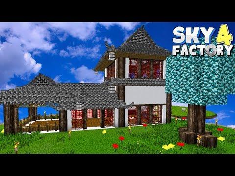 Neues Chinesisches Maschinen Gebäude! - Minecraft Sky Factory 4 (Prestige Mode) - #29 - Deutsch