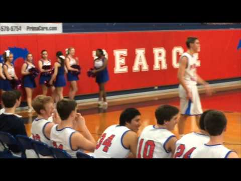 Pearce High School-Basketball Bench Celebrations
