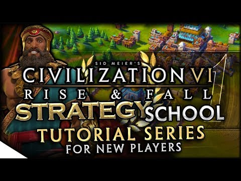 Start Location Tutorial & Tile Yield Fundamentals | Civilization VI: Rise & Fall — Strategy School 1