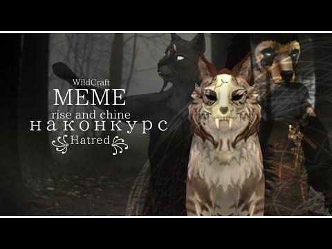 RISE AND SHINE |meme|WildCraft|на конкурс ꧁Hatred꧂ |
