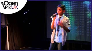 EYES WIDE SHUT - JLS performed by SHANE at Open Mic UK singing competition Camden Regional Final