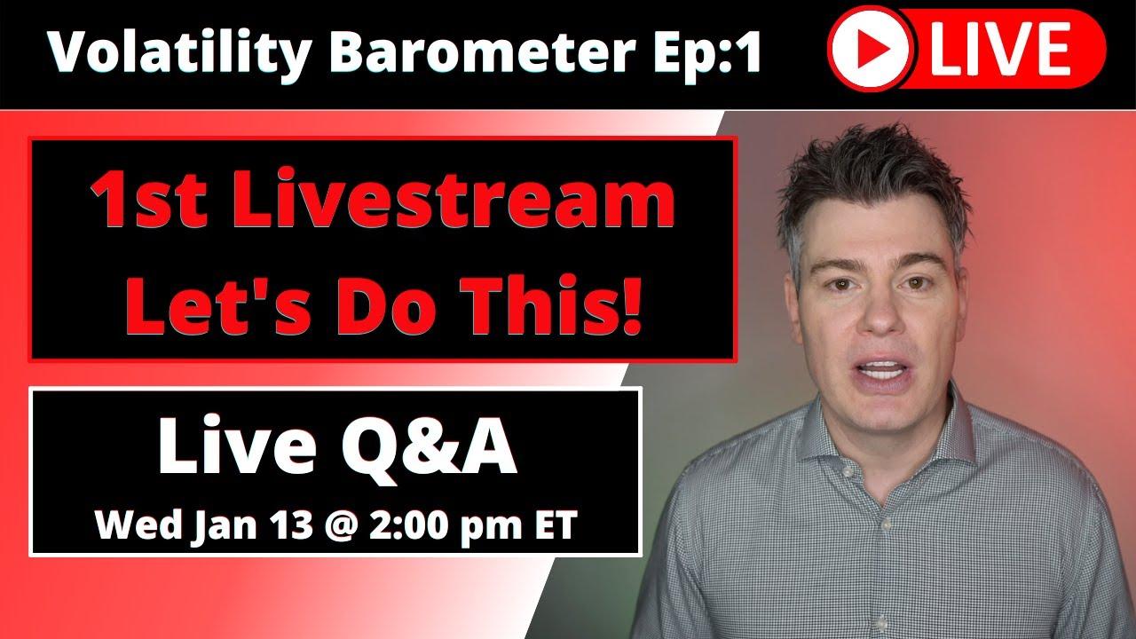 VTS Livestream #1)  My first crack at a livestream, a 3 hour Q&A