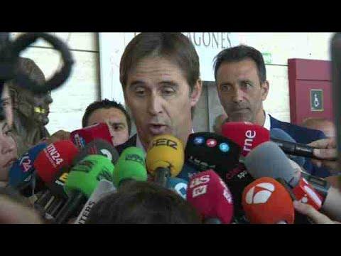 """Lopetegui sobre Villar: """"Espero que todo termine bien y que hablemos solo de fútbol"""""""