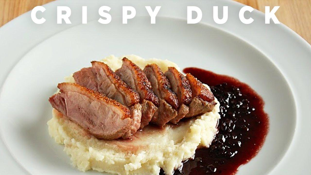 Crispy Duck and $3,000 Wine Sauce