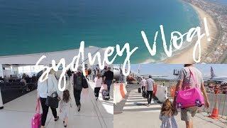 FAMILY TRAVEL VLOG | SURPRISE TRIP TO SYDNEY!