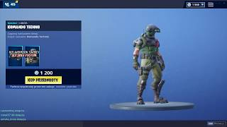 NEW SKIN KOMANDO TECHNO! FORTNITE SHOP 25.01.19/25.01 Fortnite Battle Royale