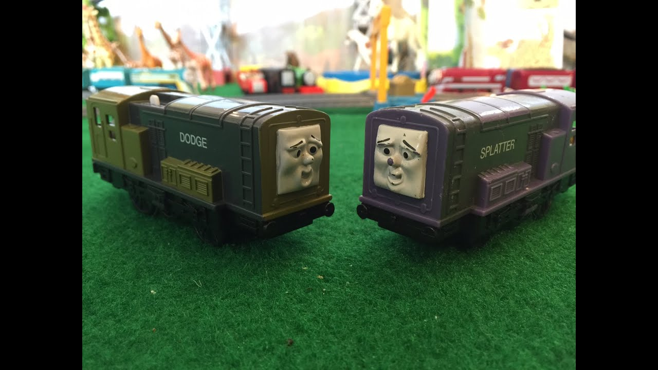 Sodor Legends Series The Great Race Of Dodge And Splatter Thomas