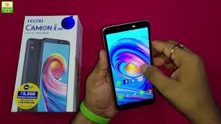 Tecno Camon i ACE Unboxing And First Impression [Hindi]