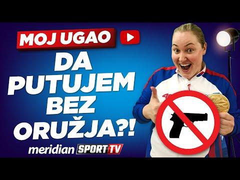 Zorana Arunović: Jedva čekam da putujem bez oružja! | MOJ UGAO #11