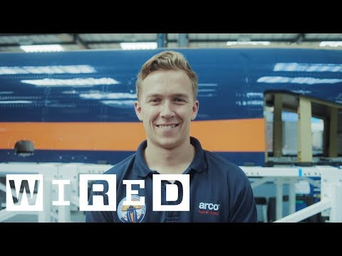 Push the limit: Bloodhound supersonic test runs | WIRED with Qualcomm