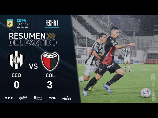 Copa De La Liga | Fecha 1 | resumen de Central Córdoba - Colón