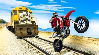 GTA 5 STUNTS & FAILS COMPILATION!  (GTA V Funny Moments)