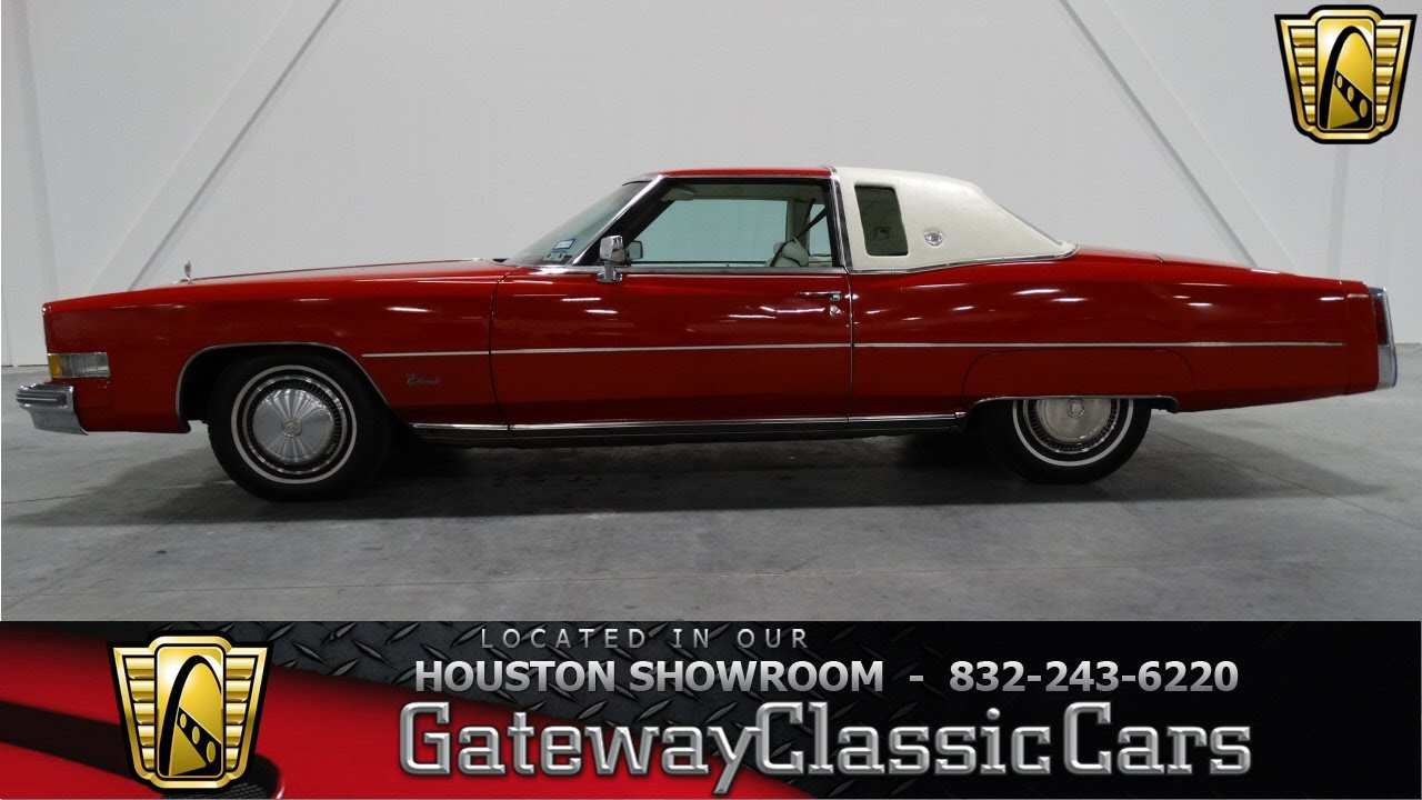 1974 Cadillac Eldorado In Houston Tx