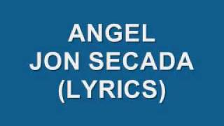Angel- Jon Secada (Lyrics)