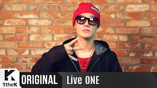 Live ONE(라이브원): Full Ver. San E(산이)_Rap Genius is Coming Back...