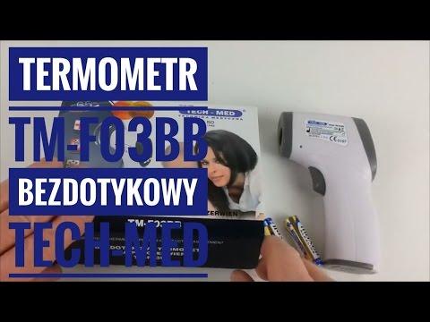 Termometr Bezdotykowy TM-F03BB